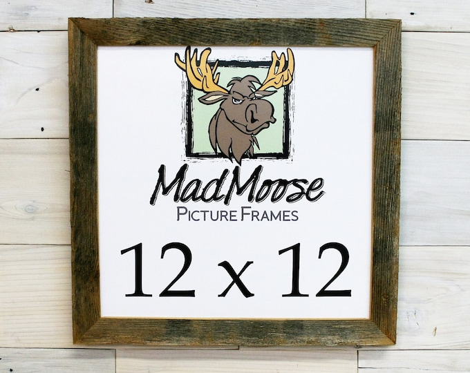 12x12 BarnWood Picture Frame Classic-1.25""