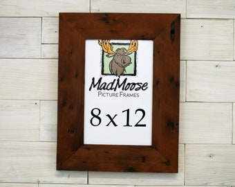 Reclaimed Redwood Picture Frame - Classic 3"