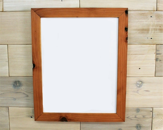 """11x17 Reclaimed Redwood Picture Frame - Classic 2"""""""