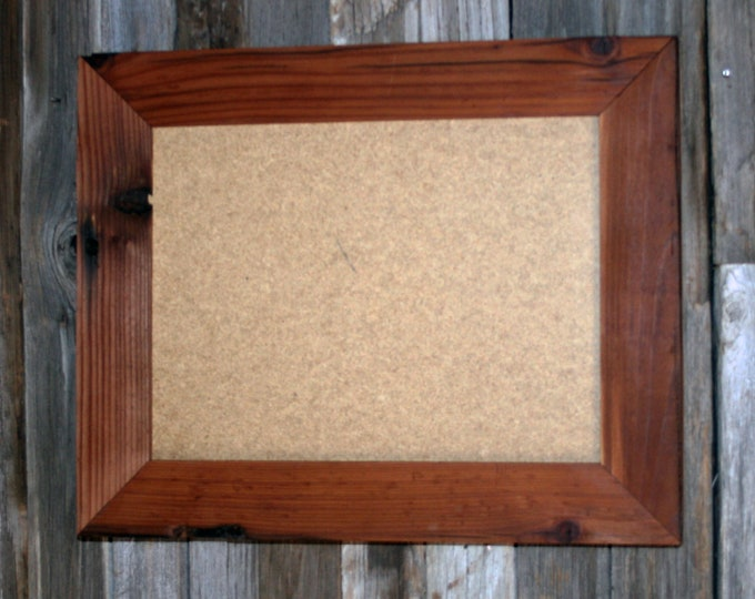 16x20 Reclaimed Redwood Picture Frame - Classic 3""