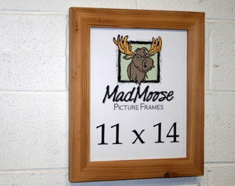 """11x14 Reclaimed Wood Picture Frame - Classic 2"""""""