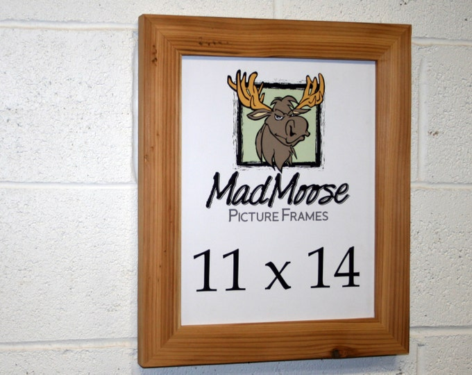 11x14 Reclaimed Wood Picture Frame - Classic 2""