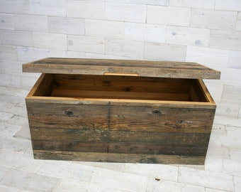"Barn Wood Box 48"" x 24"" x 24"""