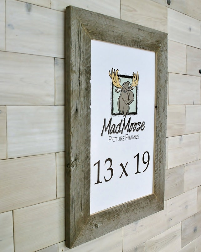 13x19 Barn Wood Thin x 3 Picture Frame . . . aka old   Etsy