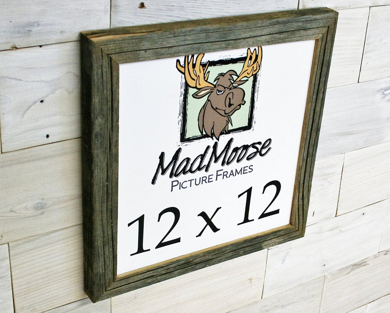 12x12 BarnWood [Chunky x 1.25] Picture Frame