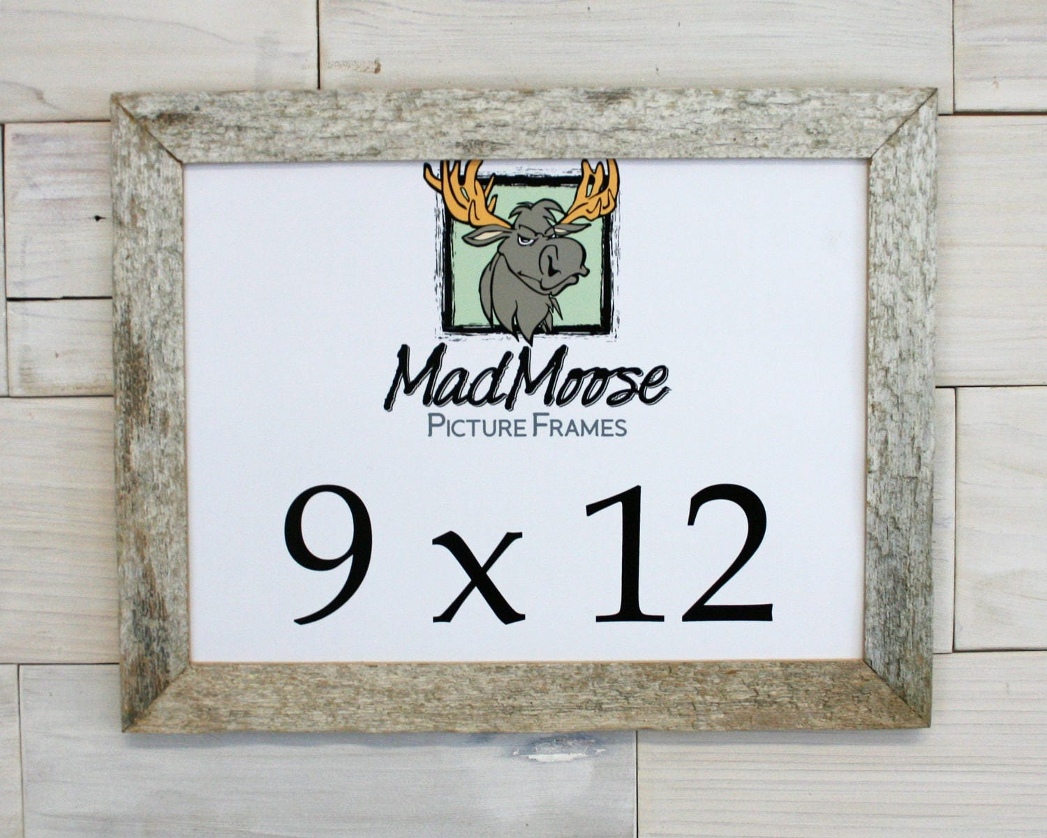 9x12 GHOST GRAY [Thin x 1.25] Picture Frame (tags: barn wood frame ...