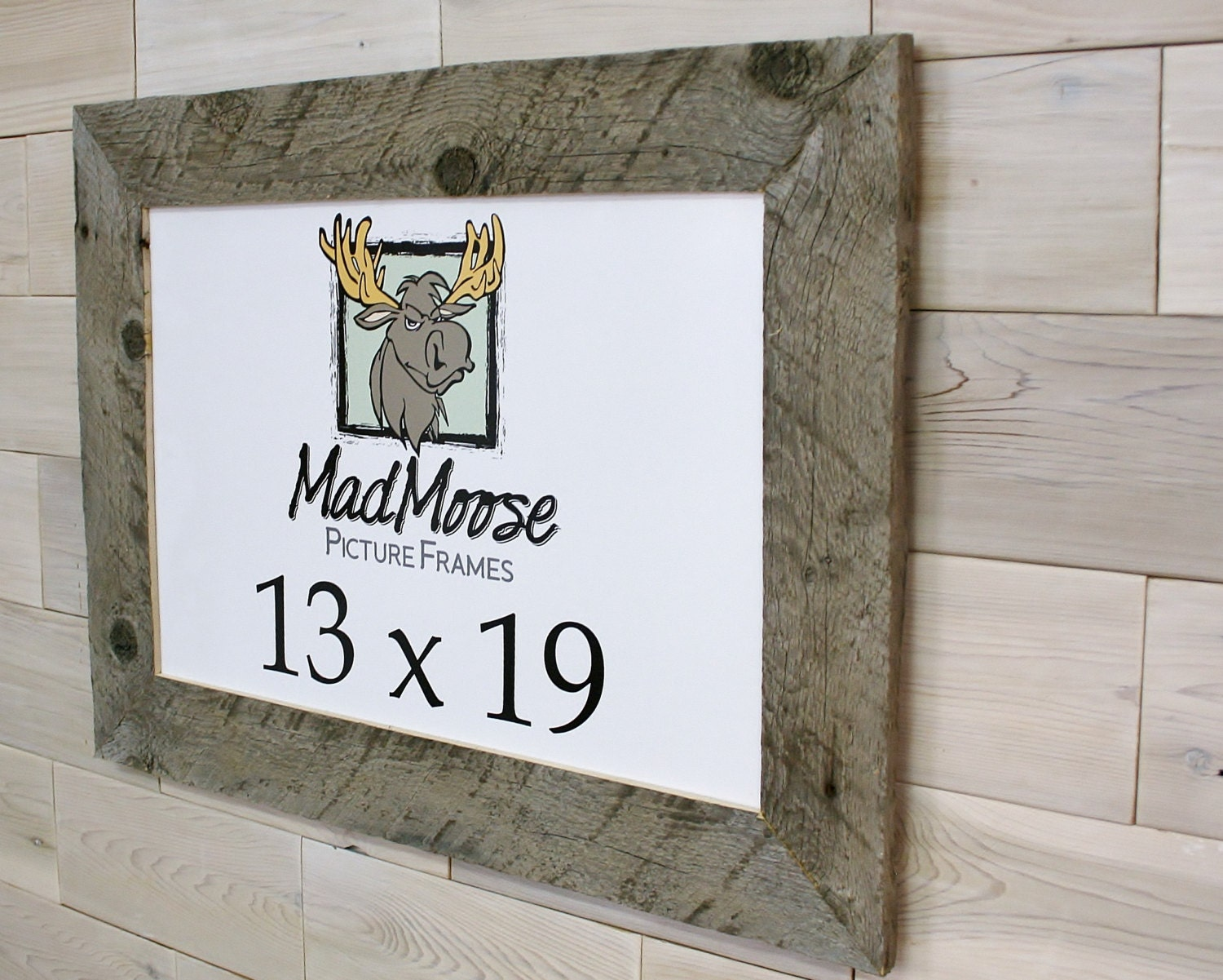 13x19 Barn Wood [Thin x 3] Picture Frame . . . (aka old rustic ...