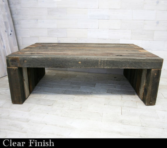 Pleasing Barn Wood Box Joint Bench Coffee Table Multiple Sizes Gamerscity Chair Design For Home Gamerscityorg