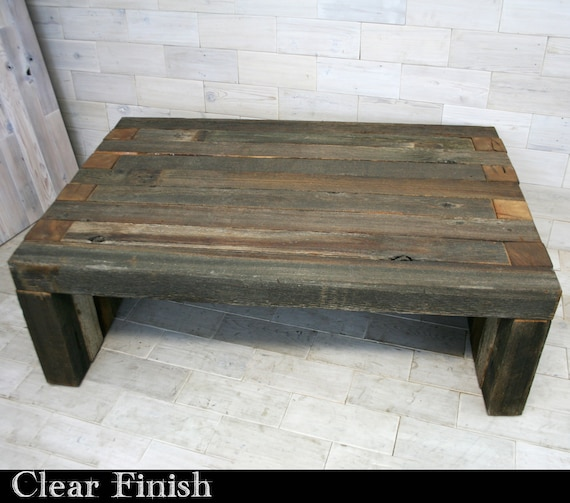 Fantastic Barn Wood Box Joint Bench Coffee Table Multiple Sizes Gamerscity Chair Design For Home Gamerscityorg