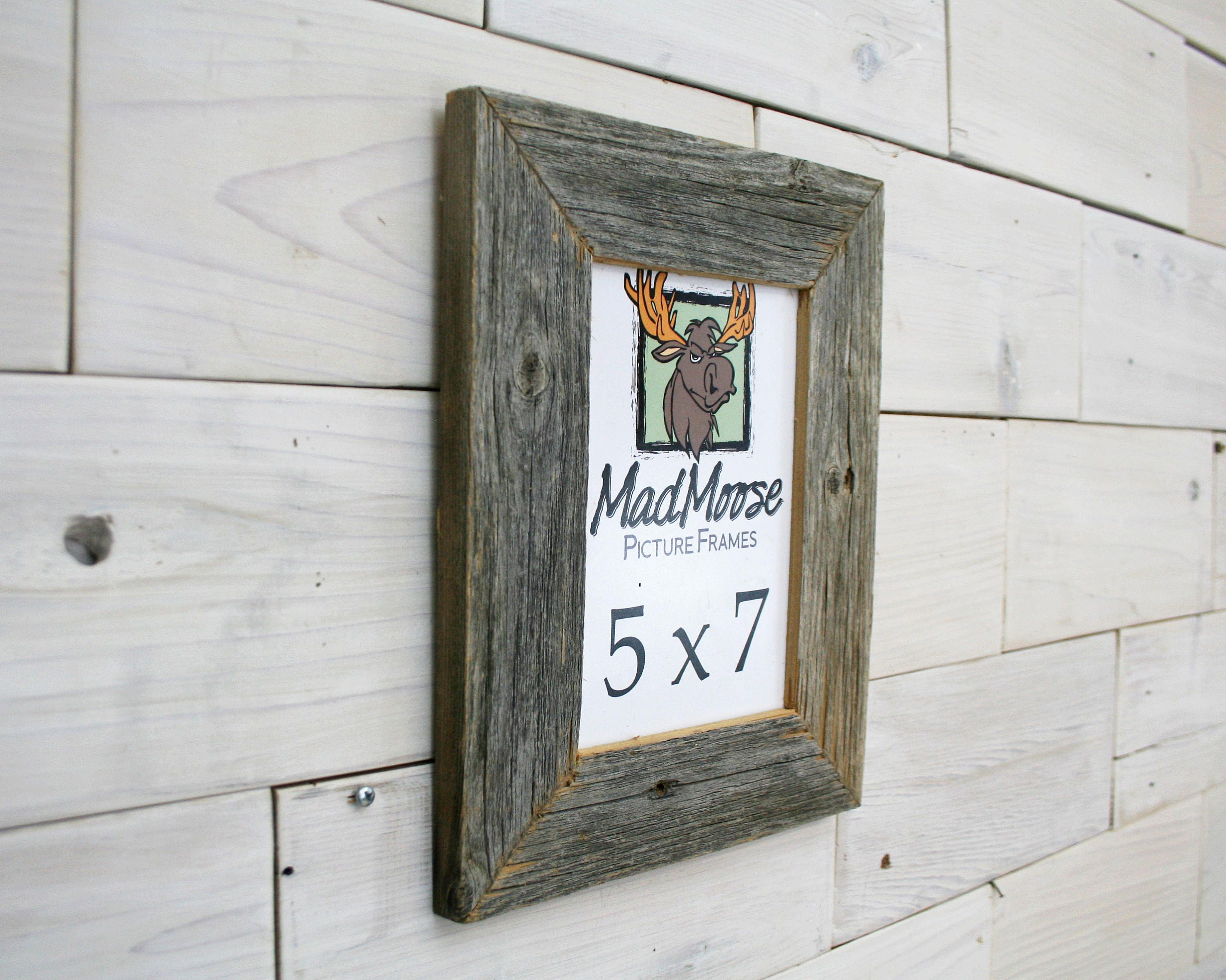 5x7 BarnWood [Thin x 2] Picture Frame