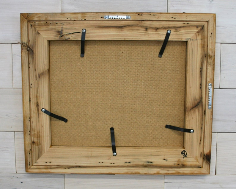 Classic 3 11x14 Reclaimed Wood Picture Frame