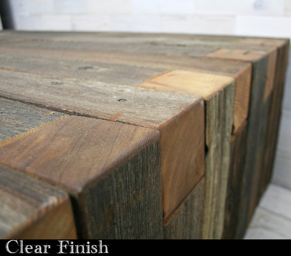 Superb Barn Wood Box Joint Bench Coffee Table Multiple Sizes Gamerscity Chair Design For Home Gamerscityorg