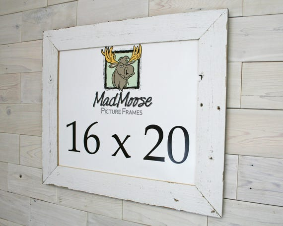 16x20 Original White Barn Wood Thin x 3 Picture | Etsy