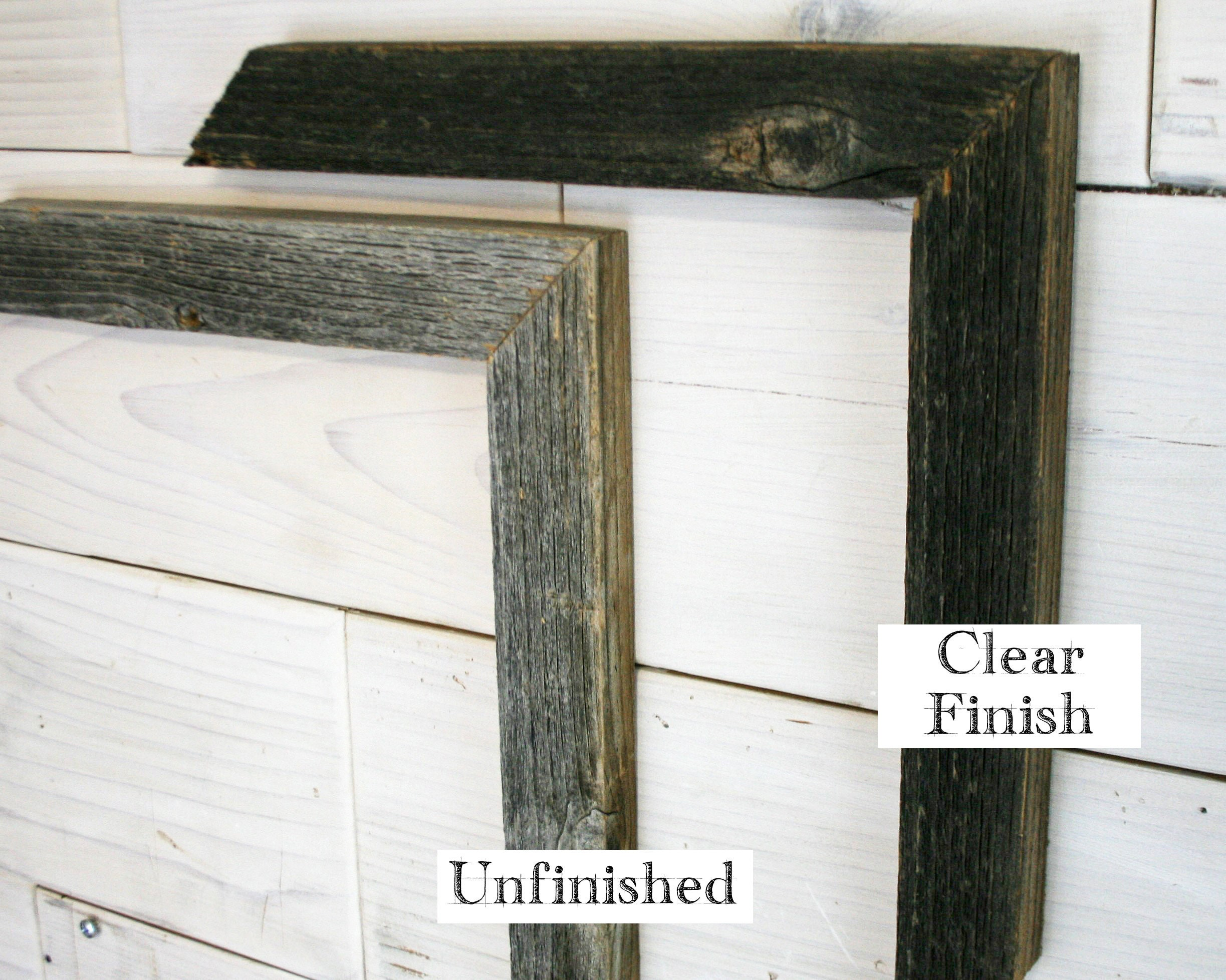 11x14 Barn Wood [Thin x 1.25] Picture Frame w/ Free Shipping (tags ...