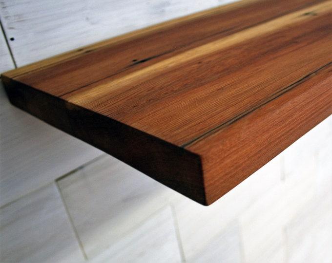 Reclaimed Redwood Shelf   multiple size options