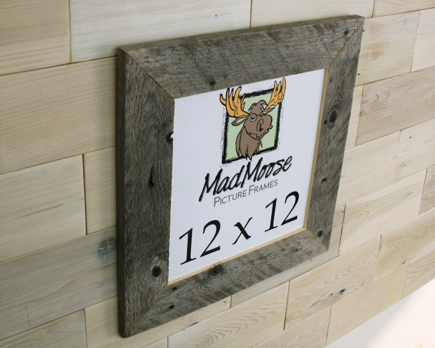 12x12 BarnWood [Thin x 3] Picture Frame (tags: barn wood frame ...