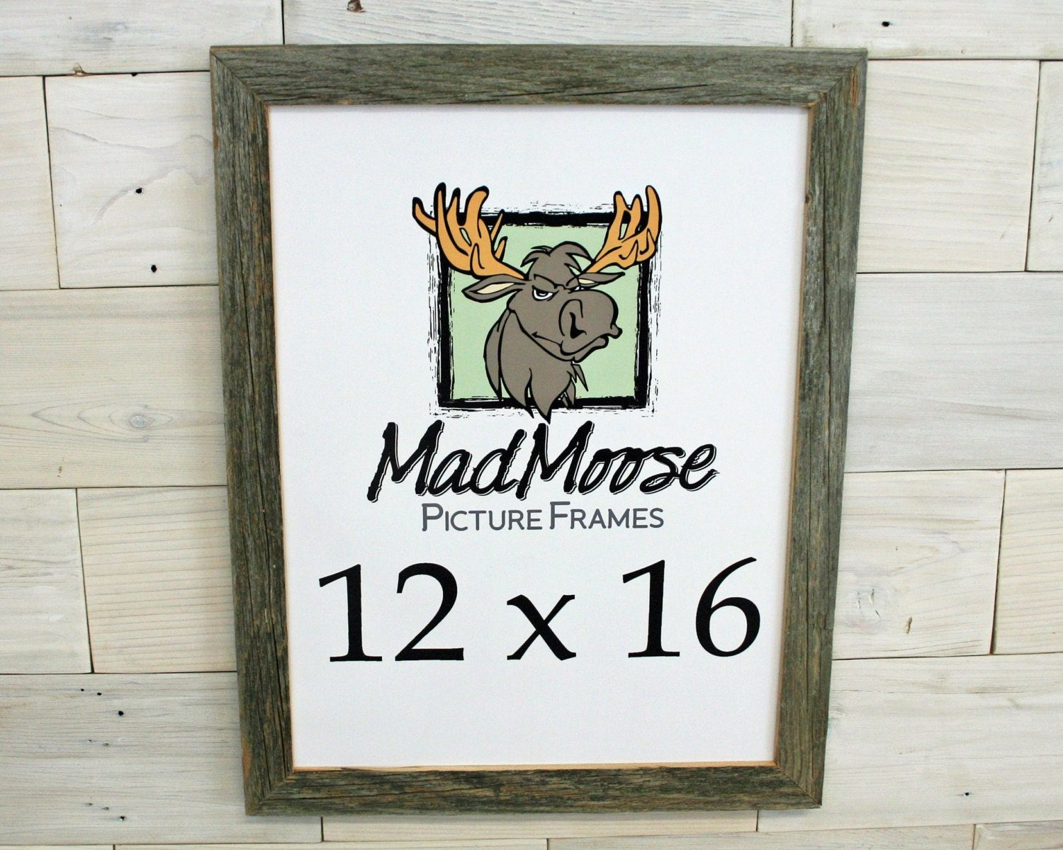 12x16 Barn Wood [Thin x 1.25] Picture Frame (tags: wood picture ...