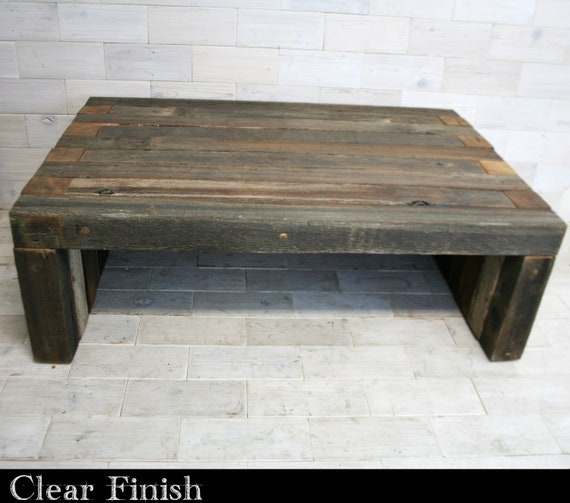 Magnificent Barn Wood Box Joint Bench Coffee Table Multiple Sizes Gamerscity Chair Design For Home Gamerscityorg