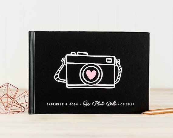 Wedding Photo Guest Book landscape wedding guestbook wedding photo book modern guest book instant photo guest book custom book for wedding