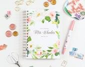 Personalized Wedding Planner, Custom Wedding Planning Book, Wedding Planner Book, Wedding Planner Journal, Wedding Journal, Floral planner