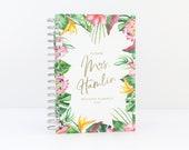 Future Mrs Wedding Planner Tropical Wedding Planning Book Custom Wedding Planner Book Gold Foil Planner Bride Personalized Wedding Planner