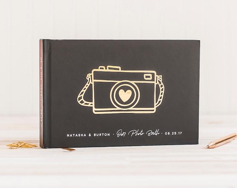 Wedding Photo Guest Book landscape wedding guestbook wedding image 0