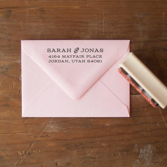 Return Address stamp, custom address stamp, address rubber stamp, address stamp, Personalized stamp, personalized gift, eco friendly rubber