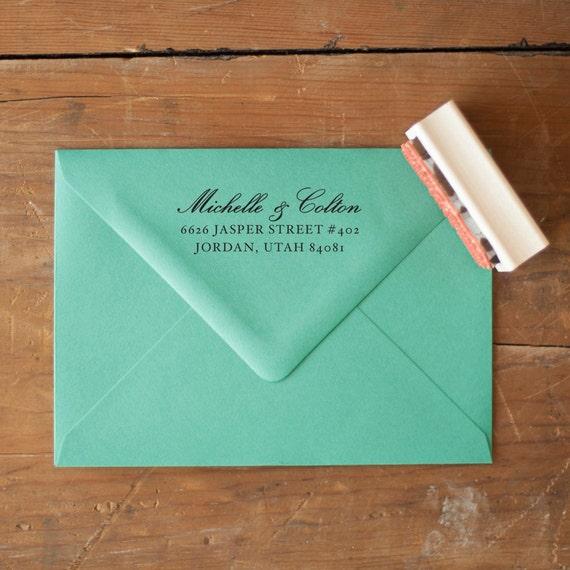 Address Stamp, Address Rubber Stamp, custom address stamp, wedding invitation stamp, personalized address stamp, custom gift, eco friendly