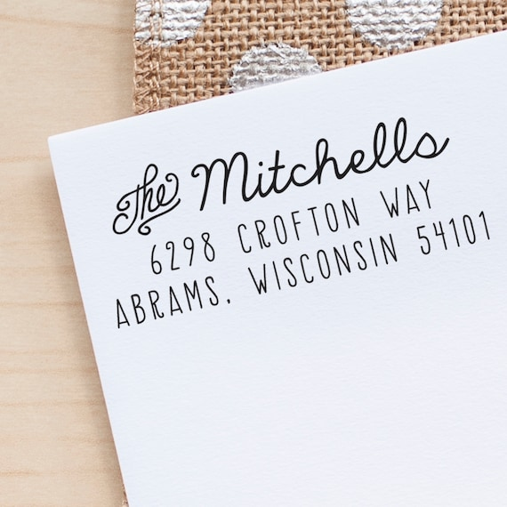 Address Stamp, Custom Rubber Stamp, wedding stationery stamp, wedding invitation stamp rustic wedding stamp envelope stamp personalized gift