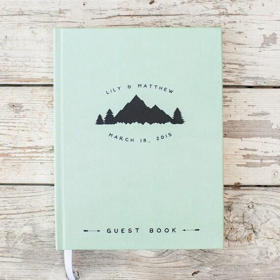 Wedding Guest Book, Wedding Guestbook, Custom Guest Book, Personalized Guest Book, custom design, rustic guest book, wedding gift, keepsake
