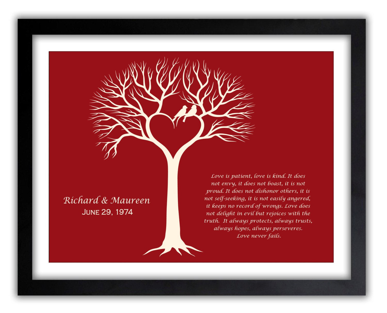 Gifts For Fiance On Wedding Day: Love Art Valentines Day Gift Gift For Him Husband
