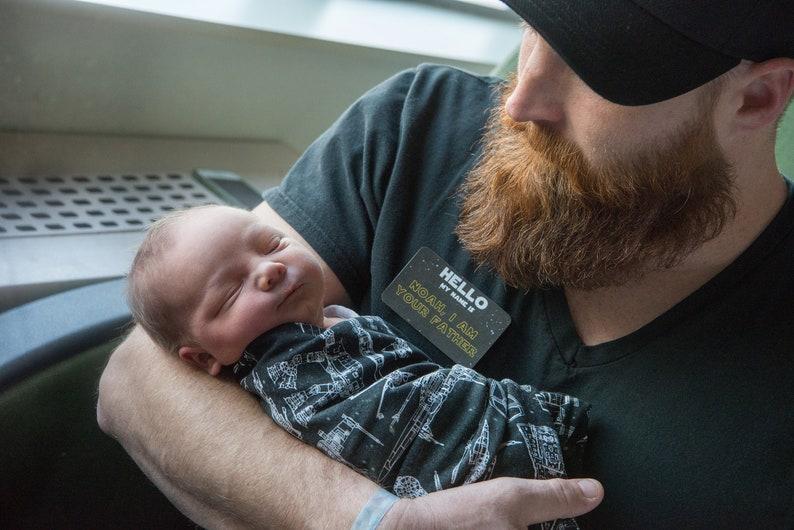 64a0f3ce3b8 Star Wars Baby Photo Prop Wrap Swaddle Blanket Newborn Photo