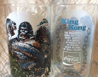Burger Chef King Kong Glasses
