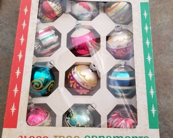 Woolworth's Christmas Bulbs