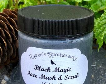 Black Magic Face Mask & Scrub