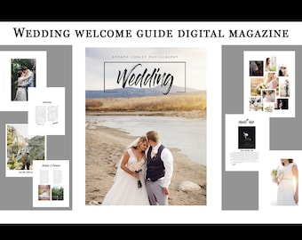 Wedding Welcome Guide- Branding for businesses   Digital marketing for Photographer   Wedding Photographers