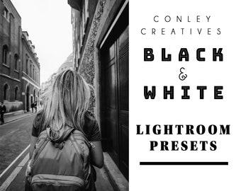 Black and White Lightroom Presets  Presets for Lightroom   Lightroom Photo Editing   Black and White Photo Editing   Black and White Presets