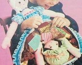 Cinderella Topsy Turvy doll pattern, Vintage Flipover doll pattern, reversible doll pattern, Instant download pdf