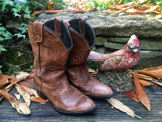 1940s-50s kiddos cowboy boots