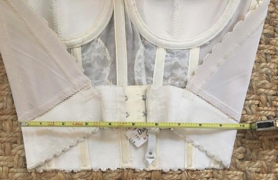 Vintage lace bustier / corset - image 5