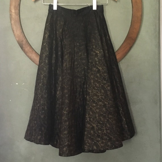 Quilted Vintage Skirt