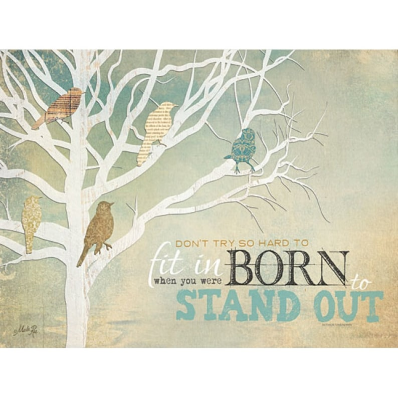 MA920 - Born to Stand Out by Marla Rae