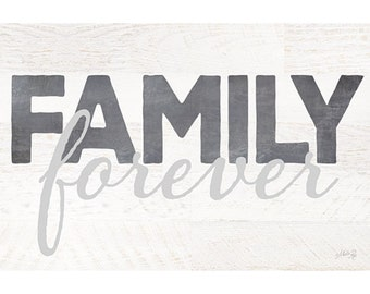 MA2257 - Family Forever - 18 x 12