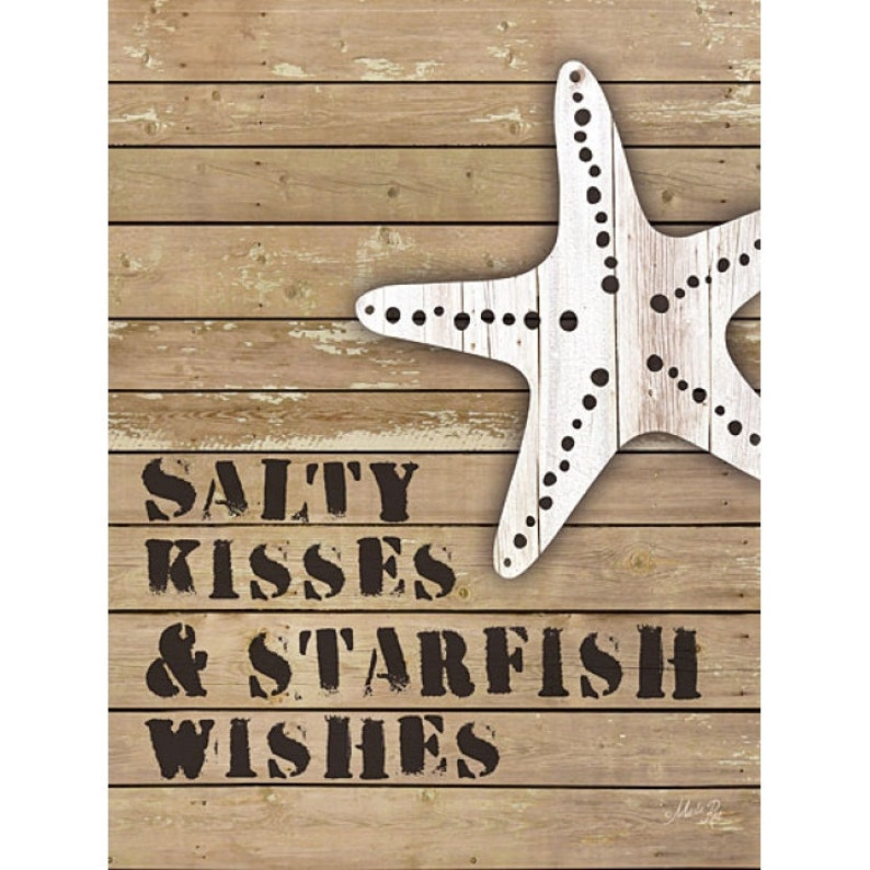 MA1131 - Salty kisses and starfish wishes by Marla Rae