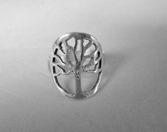 Tree of Life ring dime size
