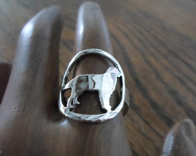 Golden retriever ring