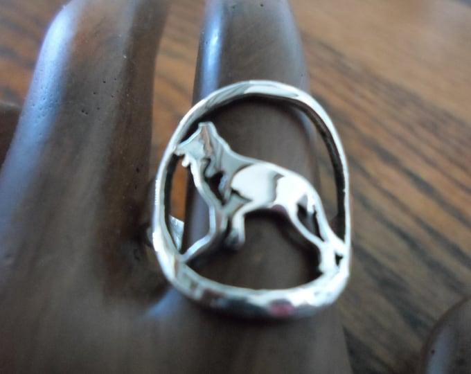 German Shepard ring
