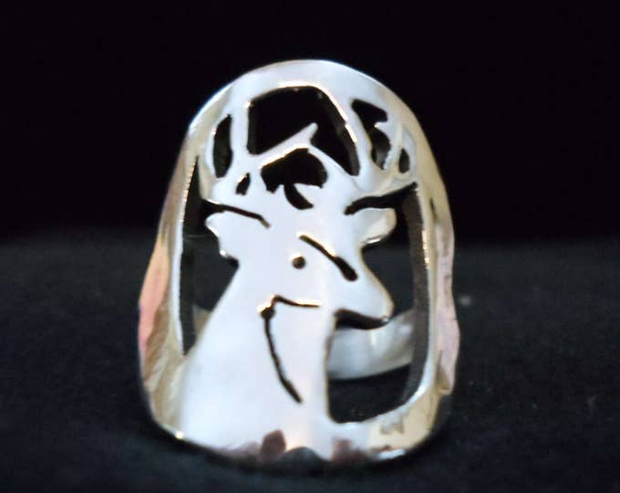 buck head ring quarter size