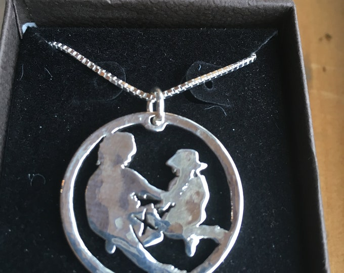 Your jewelry from your pic w/sterling silver chain