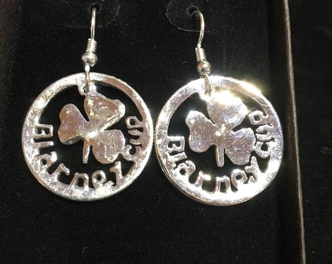 Blarney cup earrings